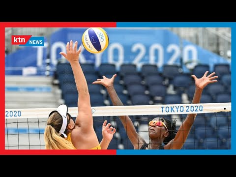 Kenya's Beach Volleyball National team to take on the United States of America on Thursday