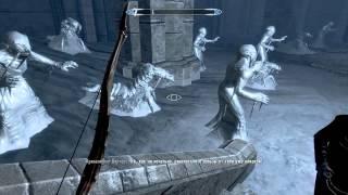 Let's play: The Elder Scrolls V: Skyrim downguard замороженные фалмеры