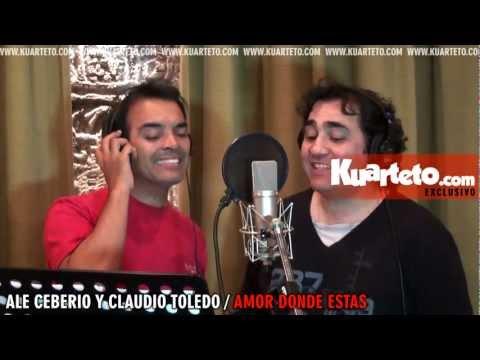 Ale Ceberio y Claudio Toledo - Amor donde estas (Videoclip)