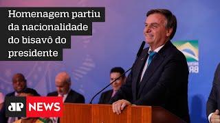Bolsonaro vira cidadão honorário na Itália