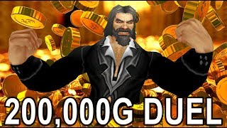 WOW DUEL FOR 200,000 GOLD Savix Vs Rodak ( Ret vs Rogue )