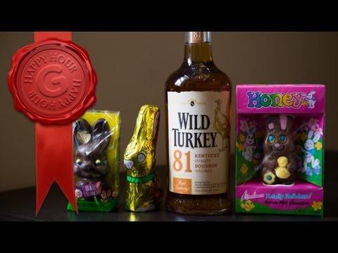 Bourbon Chocolate Bunnies: Make Your Easter Basket Boozy