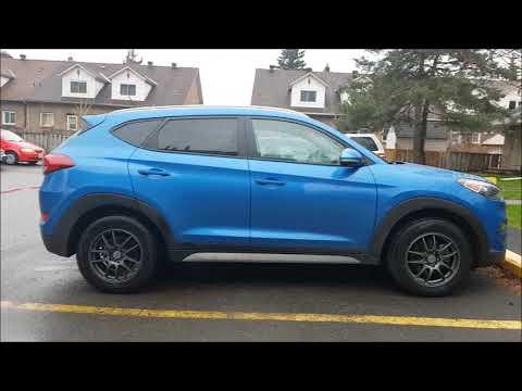 RSSW Velociy Rims on a 2017 Hyundai Tuscon