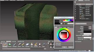 Painting In Mudbox For UDK (Part 10: The Ammo Bag)