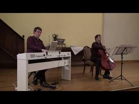 Claude Debussy, Sonate pour violoncelle et piano, 1er mvt<br /><br />Marc-Antoine Novel violoncelle, Philippe Hattat piano <br />Temple de Dieulefit, 19 août 2020