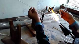 Bending  Glass tube.