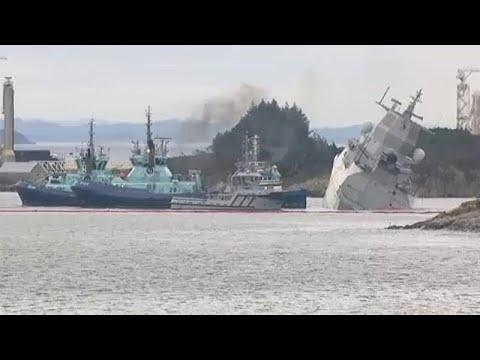 Νορβηγία: Σύγκρουση πετρελαιοφόρου ελληνικών συμφερόντων με νορβηγική φρεγάτα…