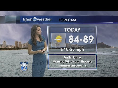 Wake up 2day with Hawaii's Weather Forecast - смотреть