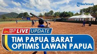 Optimis Menang Derby Lawan Papua, Tim Softball Papua Barat Pertajam Mental Pemain