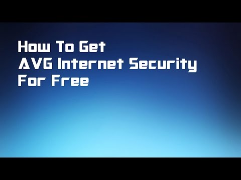 AVG Internet Security 2018 tutorial