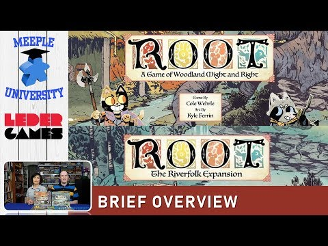 Root & The Riverfolk Expansion Board Game – What to Expect, Brief Overview