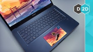 Zenbook Pro UX580 Review - TWO SCREENS!