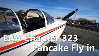 EAA Chapter 323 Pancake Fly in - Van's RV's and Warbirds