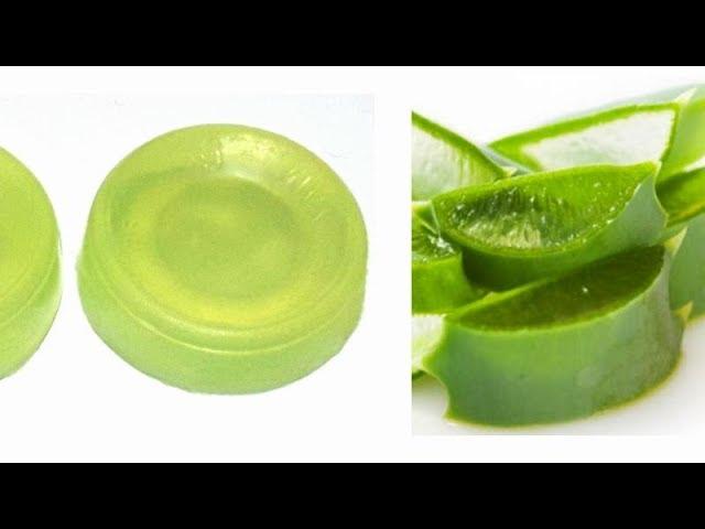 Homemade Aloe Vera Soap / Skin Glowing  Aloe Vera Soap/ How to make Aloe Vera Soap at Home / Netural