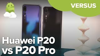 Huawei P20 vs Huawei P20 Pro: Is the Pro worth the extra cash?
