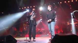 Charlie Wilson brings Scotty McCreery on stage to sing 'Charlie, Last Name, Wilson'