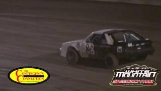 Thunders White Mountain Speedway Park- Arizona - Mini Stocks 6/17/17