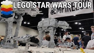 Brickworld Chicago 2019 LEGO Star Wars MOC Tour!