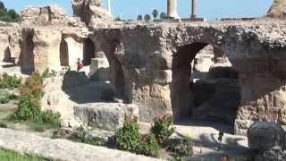 チュニジア・カルタゴ遺跡