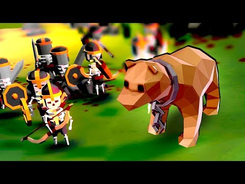 Massive Bears Attack Our Skeleton Army! Can Our Undead Horde Survive?!