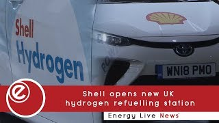 Shell opens new UK  hydrogen refuelling station