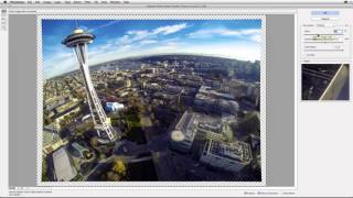 Adaptive Wide Angle Tutorial with Aerial Photography