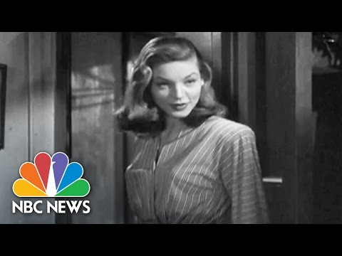 Icon Lauren Bacall Dies At 89 | NBC News