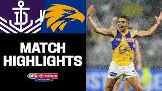 Small Forwards Light Up Western Derby | Fremantle V West Coast Highlights | Round 16, 2019 | AFL