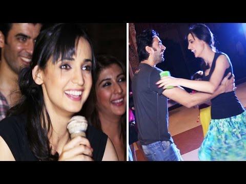 Sanaya Dances At The Wrap Up Party Of Rangrasiya