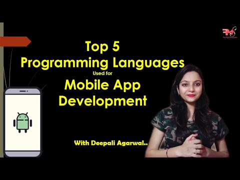 #6 Programming Languages used for Android App Development   Android Development Tutorial 2020