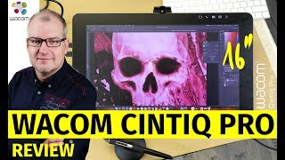 "Wacom Cintiq Pro 16"" mit 4K Display im Test / Review"