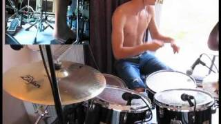 36 Crazyfists - Skin and Atmosphere (Drum Cover)