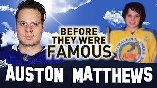 Auston Matthews | Before They Were Famous | Toronto Maple Leafs NHL