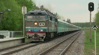 Тепловоз ТЭП70-0237 с спецпоездом на Казахстан / TEP70-0237 with special train to Kazakhstan