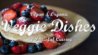 小麦粉も卵も乳製品も使わないグルテンフリーパンケーキの作り方 VeggieDishesbyPeacefulCuisine