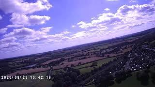 First test flight with my dji phantom 3 pro drone