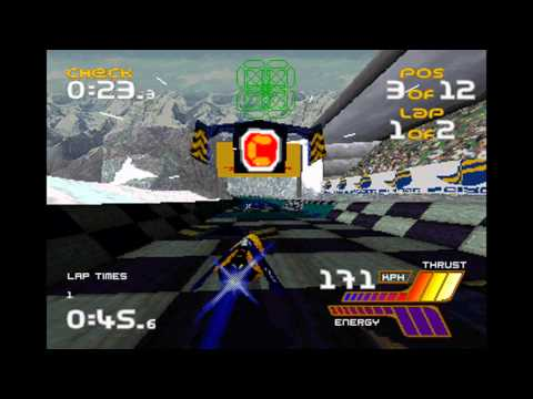 Saturn Power 5 WipEout 2097 - Demo CD