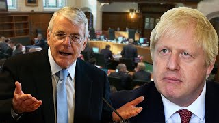 video: Sir John Major compares Boris Johnson to councillors buying land to kick out gipsies