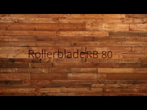 Video: 2018 Rollerblade RB 80 Mens Inline Skate Overview by InineSkatesDotCom