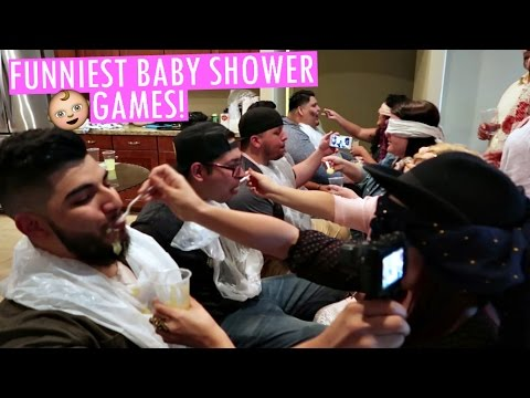 FUNNIEST BABY SHOWER GAMES!!!