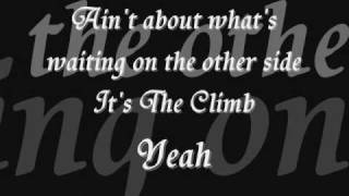 Joe McElderry -THE CLIMB with LYRICS ON SCREEN