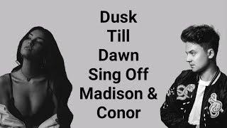 Dusk Till Dawn   Madison Beer & Conor Maynard (Lyrics)