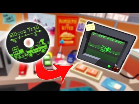 Download Office Worker Finds SECRET GAME on a HIDDEN WEBSITE! - Job Simulator Gameplay Mp4 HD Video and MP3