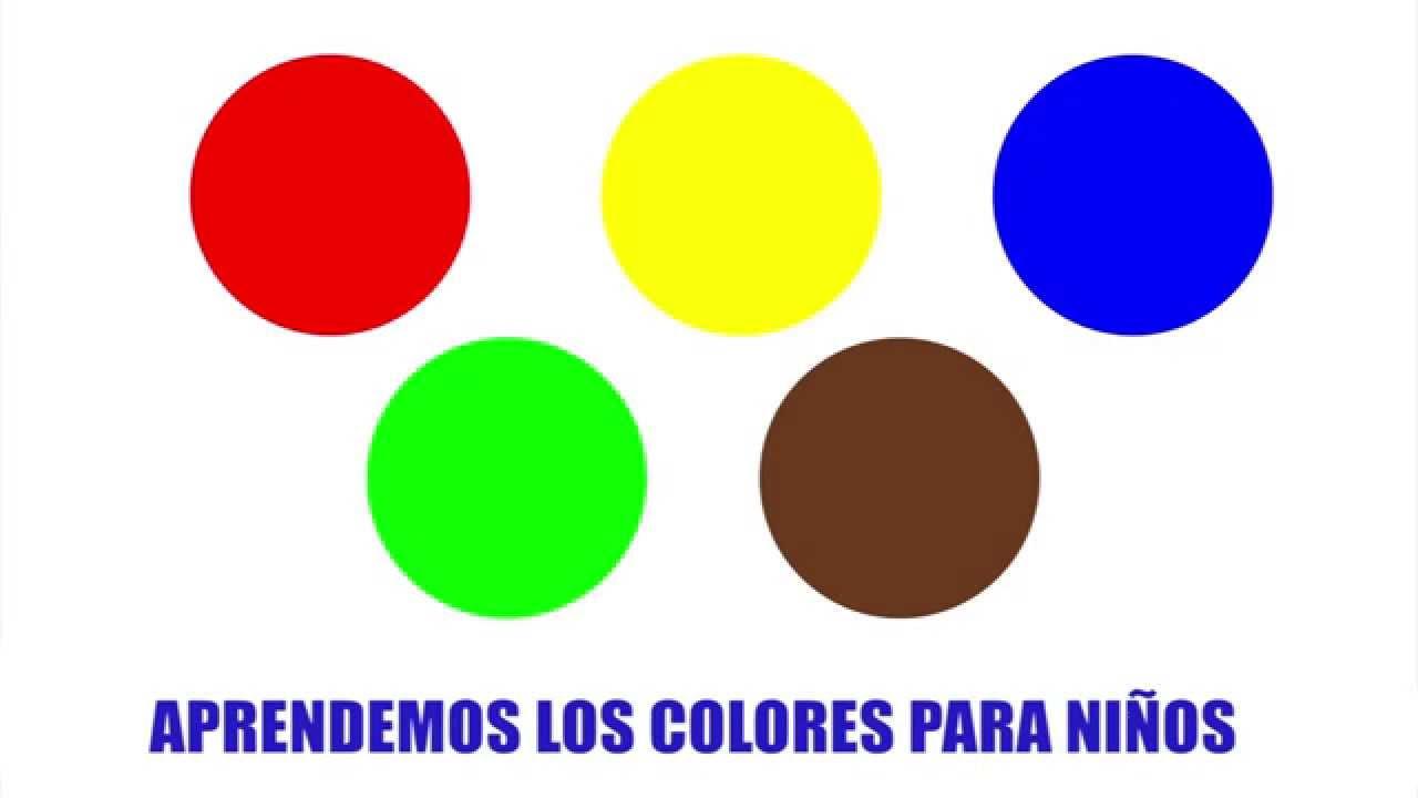Aprende los colores para niños