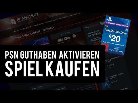 PSN Guthaben einlösen - Playstation Spiele kaufen (FIFA 19 PS4) - GERMAN - TUTORIAL - HD