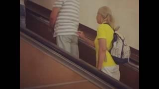 Энергетическое воздействие в московском метро