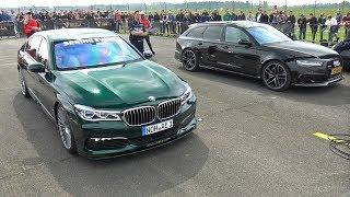 Audi RS6 Avant C7 vs Alpina B7 BiTurbo vs Nissan GT-R