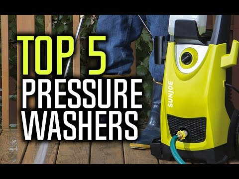 Best Pressure Washers in 2018 – Which Is The Best Pressure Washer?