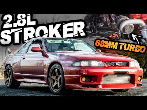 RB26DETTを2.8リッターにボアアップ!R33 スカイラインGT-Rのエンジンが奏でるRBサウンド