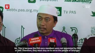 No reason for PAS exco members in Selangor to step down, says new Youth chief